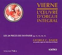 Vierne:Cpte.Organ Works Vol7