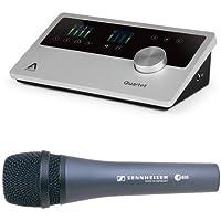 Apogee Quartet Audio Interface with Sennheiser E835 [並行輸入品]