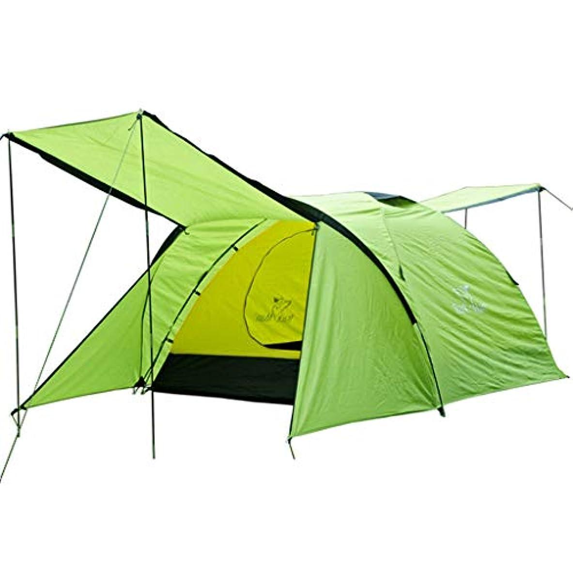 欺く死の顎蜜Roscloud 3-4人テントアウトドアフィールドキャンプダブルレイヤー防水ビッグテント