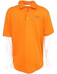 Puma Golf Boy 's長袖ポロTシャツ