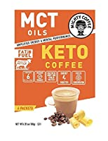 Mighty Coffee Keto Coffee, (6) Packets In Each Box (2 Boxes)
