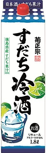 菊正宗 すだち冷酒 [ リキュール 1800ml ]