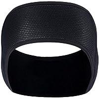 Zhhlinyuan 良質 屋外の Riding Running 風防 スポーツ Headband Black Adults ユニセックス Stretch 冬 暖かい Ear Muffs