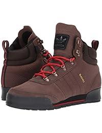 (アディダス) adidas メンズブーツ?靴 Jake Boot 2.0 Brown/Scarlet/Core Black Leather 13.5 (31.5cm) D - Medium