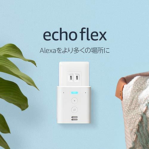 スマートスピーカー「Echo Flex」34%オフの1,980円