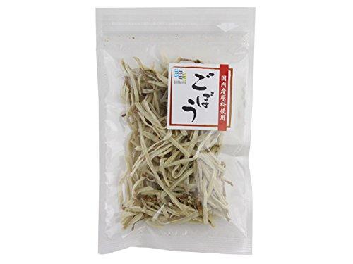 乾燥ごぼう 20g (国内産原料使用)ゴボウを熱湯で戻すだけの簡単調理!(乾燥野菜 国産 保存食)味噌汁の具にも重宝します。