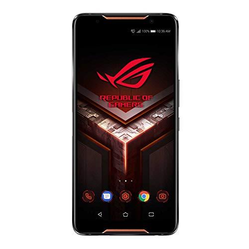 【Amazon.co.jp 限定】ASUS ROG Phone ZS600KL【日本正規代理店品】ゲーミングスマートフォン(SIMフリー)/8GB/128GB/802.11ad対応/冷却ユニット付属 ZS600KL-BK128S8 (1,000 Amazonコインクーポン付き)