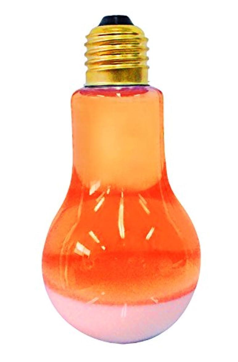 素晴らしい縁石ノーブルピュア 入浴剤 電球とろぴかバス オレンジ