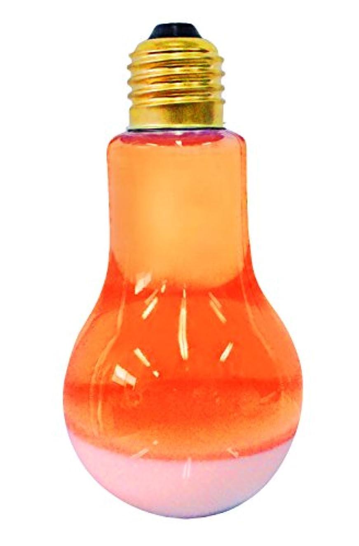 ピュア 入浴剤 電球とろぴかバス オレンジ