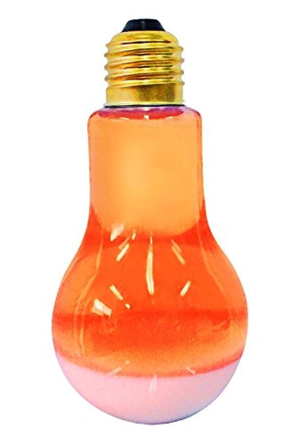 熱心砲兵焦がすピュア 入浴剤 電球とろぴかバス オレンジ