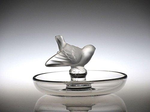 ラリック アクセサリートレイ ● 小鳥 ロシニョール リングトレイ 小物入れ ナイチンゲール Rossignol