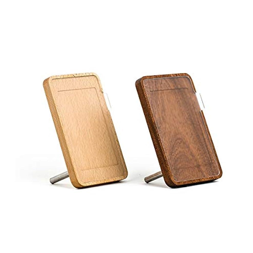 米国寄稿者古いJJYZD 無垢材フォトフレーム、5インチ7インチ、ヨーロッパのクリエイティブ木製新年ギフト (Color : Brown, Size : 7 inch)