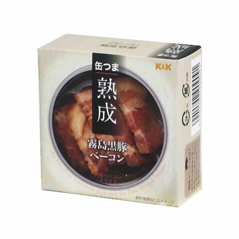 缶つま <熟成> 霧島黒豚ベーコン(60g)