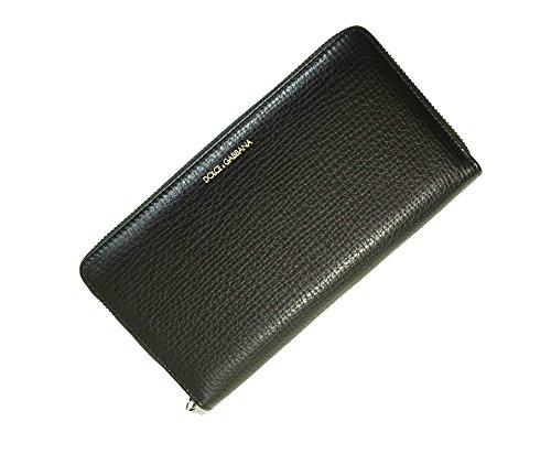 (ドルチェ&ガッバーナ)DOLCE&GABBANA 財布 型押しレザー ラウンドファスナー長財布 BP1672 A1503 80999 DG-1472 [並行輸入品]
