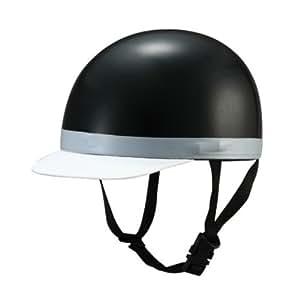 バイガルー(By Garoo) オートバイ用ヘルメット ベーシックスタイルハーフ ブラック 【サイズ:約57-60cm】 BH-01K