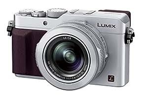 Panasonic コンパクトデジタルカメラ ルミックス LX100 4/3型センサー搭載 4K動画対応 シルバー DMC-LX100-S