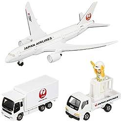 トミカ 787エアポートセット (JAL)