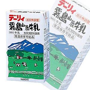 南日本酪農協同 デーリィ 霧島山麓牛乳 1000ml×6本入【×2ケース:合...