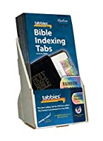 Tabbies Rainbow Bible Index Tab Display Includes 20 Packs of 58346 (48346) [並行輸入品]