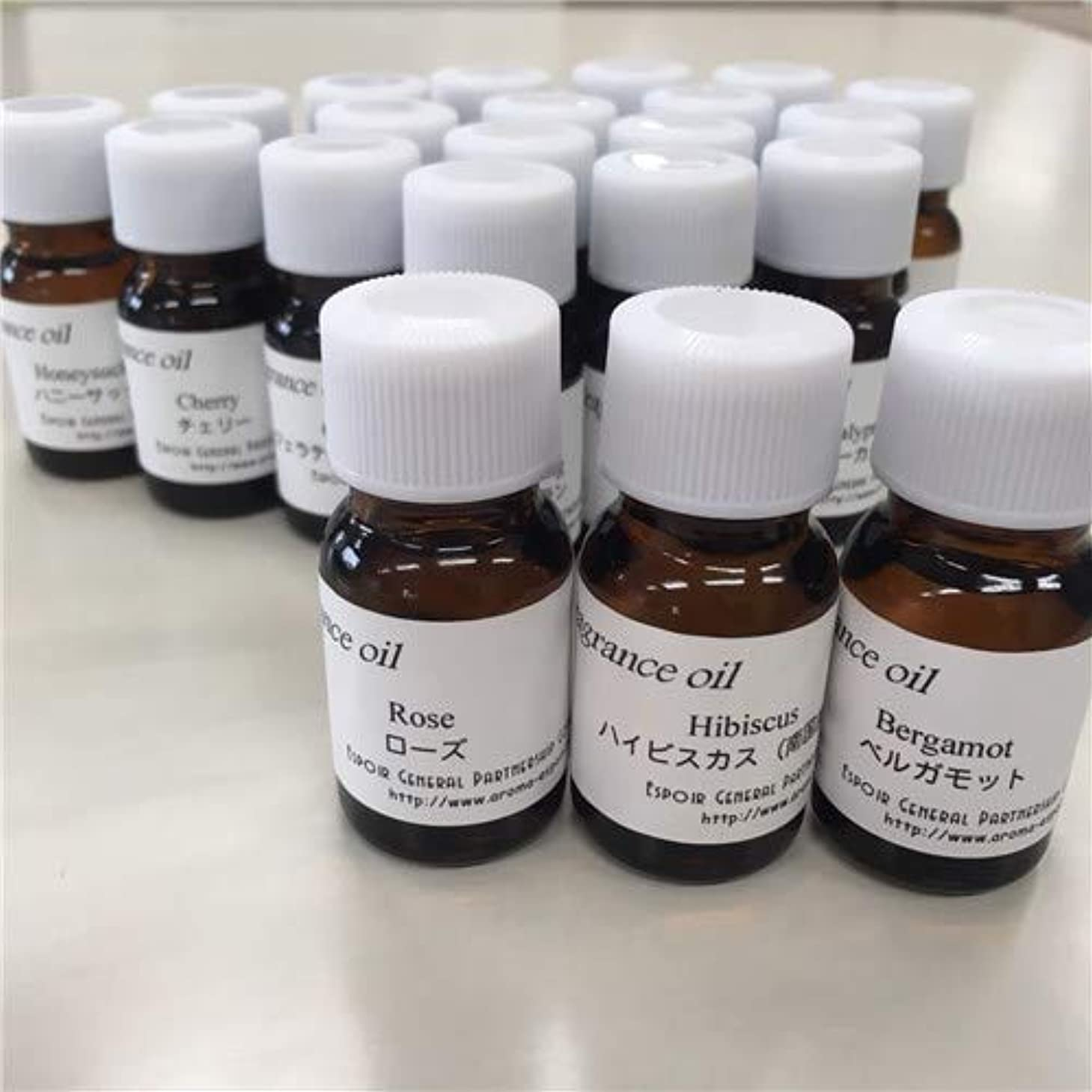 第五強打ピラミッド贅沢な香り フレグランスオイル 全28種 キャンドル アロマ (ハニーサックル)
