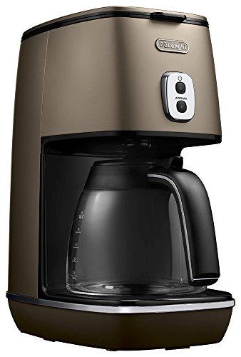 デロンギ ディスティンタコレクション ドリップコーヒーメーカー フューチャーブロンズ ICMI011J-BZ