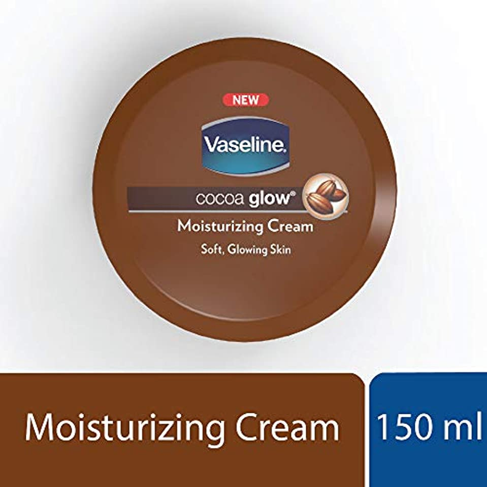 寄付韓国語楽観的Vaseline Cocoa Body Cream, 150ml