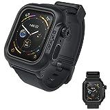 カタリスト Apple Watch Series 4 44mm 完全防水ケース ブラック CT-WPAW1844-BK