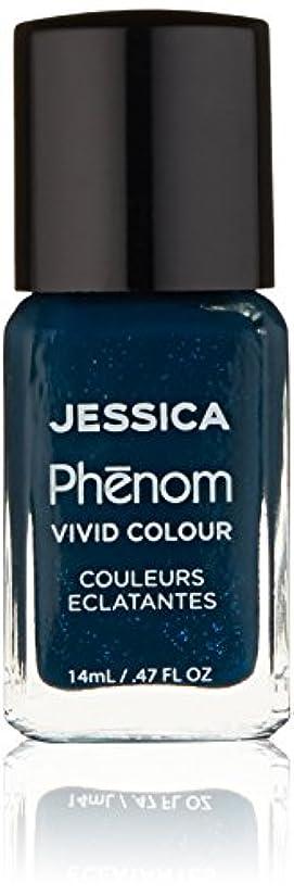 鉛筆メジャー熟練したJessica Phenom Nail Lacquer - Starry Night - 15ml / 0.5oz
