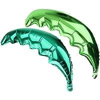 Prettyia 2本 風船 バルーン パームツリー リーフ