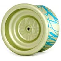 YoYoFactory Avant Garde Yo-Yo - Light Lime and Aqua Splash by YoYoFactory [並行輸入品]