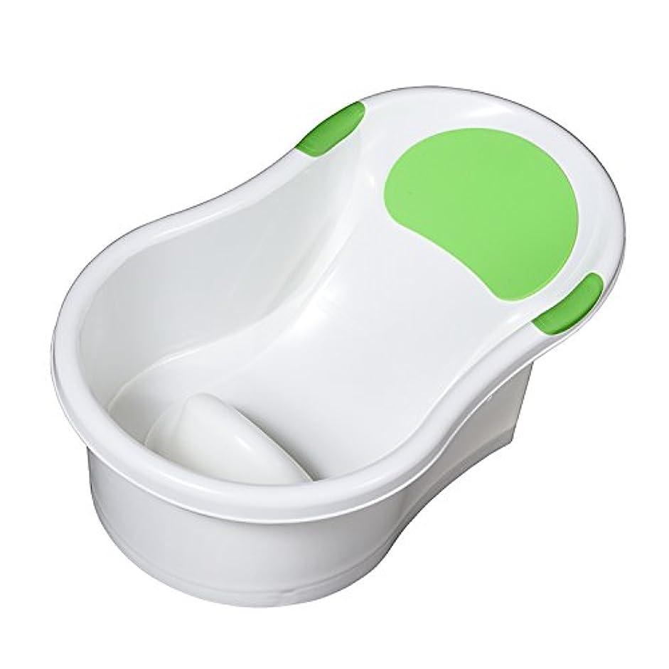 ロードされた洗う木材永和 新生児用ベビーバス お風呂でもキッチンのシンクでも使えるバスタブ 通常色 498111