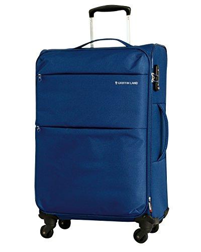 S型 ネイビー / AIR6327(solite)機内持ち込み可 ソフト スーツケース キャリーバッグ TSAロック搭載 超軽量
