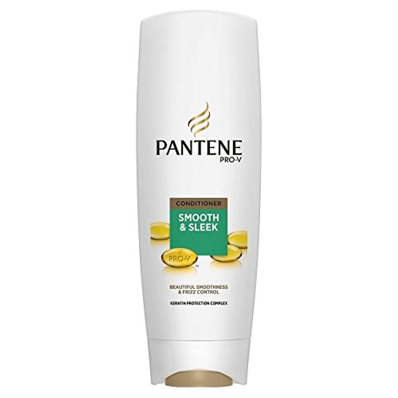 ギャップ部屋を掃除する味わうPantene Pro-V Smooth & Sleek Conditioner (360ml) パンテーンプロv滑らかで洗練されたコンディショナー( 360ミリリットル) [並行輸入品]