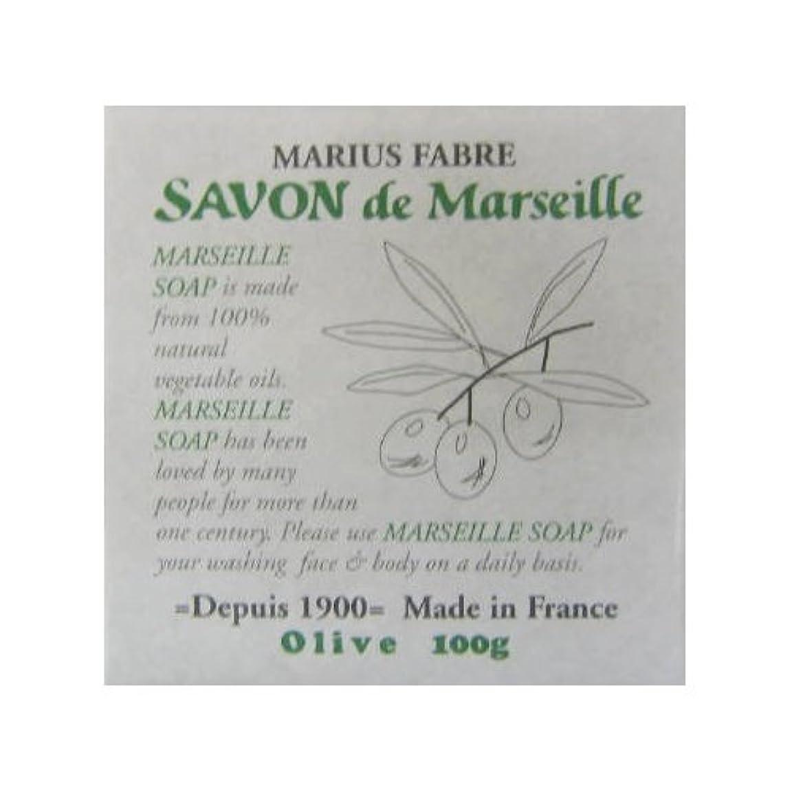 雄大な証言かすれたサボン ド マルセイユ オリーブ 100g