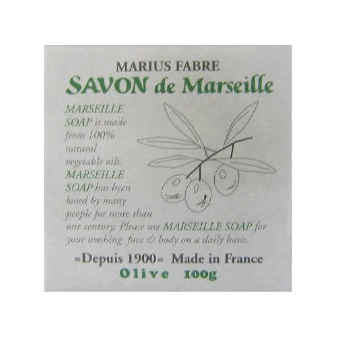 文阻害する謙虚なサボン ド マルセイユ オリーブ 100g