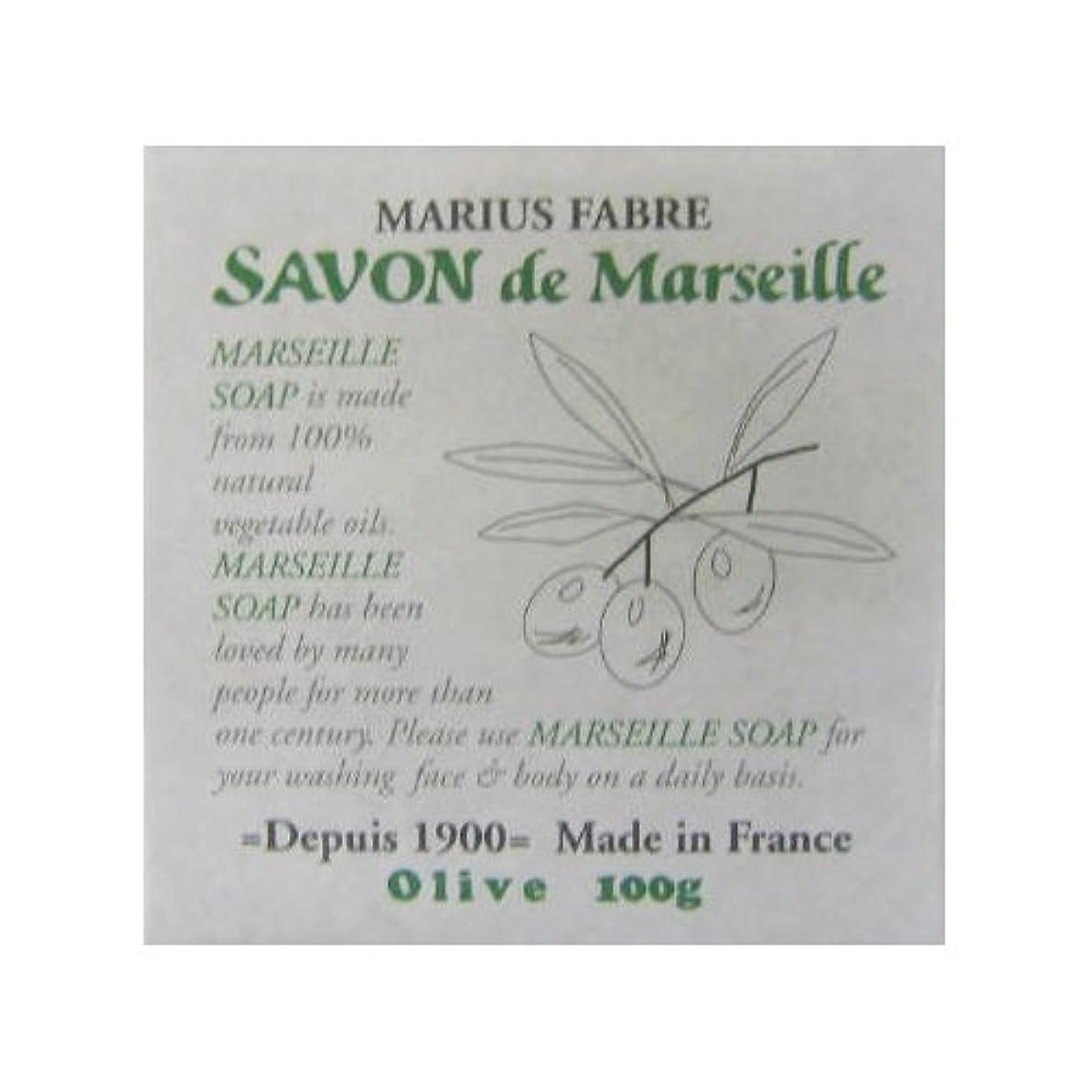 つかの間薄いです田舎者サボン ド マルセイユ オリーブ 100g