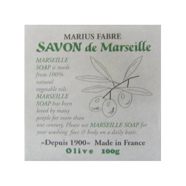 回転するウェイター処理するサボン ド マルセイユ オリーブ 100g