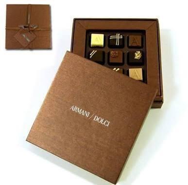 アルマーニ ドルチ プラネリ チョコレート 9個入り ARMANI DOLCI スイーツ ホワイトデー 箱入り