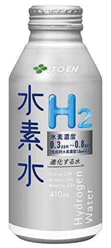 伊藤園 進化する水 水素水 (ボトル缶) 410ml×24本
