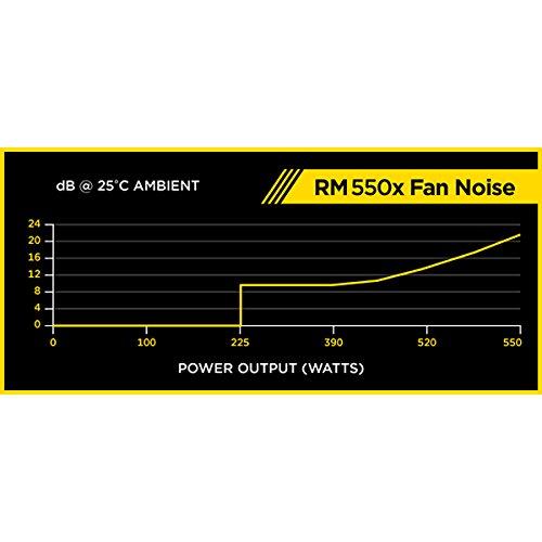 Corsair RM550x 80PLUS GOLD認証取得 550W静音電源ユニット PS592 CP-9020090-JP
