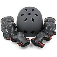 (エムズダイス)M's Dice ヘルメット & プロテクター 3点 セット ( 手首/ひじ/ひざ パッド ) 3カラー S~L サイズ スケボー ローラースケート