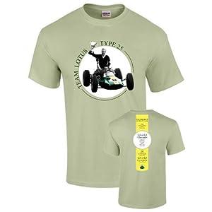 チーム・ロータス type 25 ビクトリーTシャツ Lサイズ