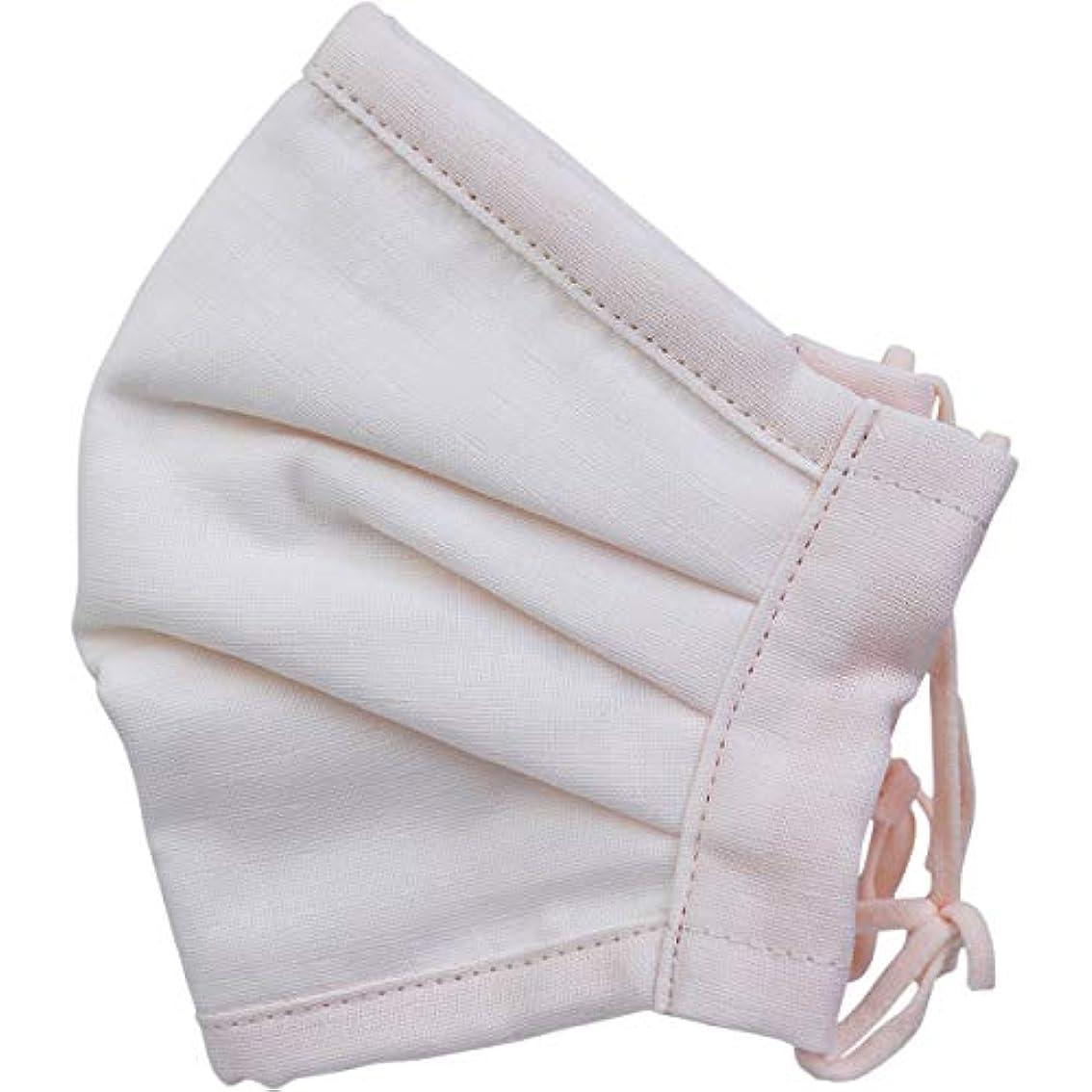 気質降下避難するさらふわマスクダイヤドビー 敏感肌用 ライトピンク 少し大きめサイズ 1枚入×5個セット