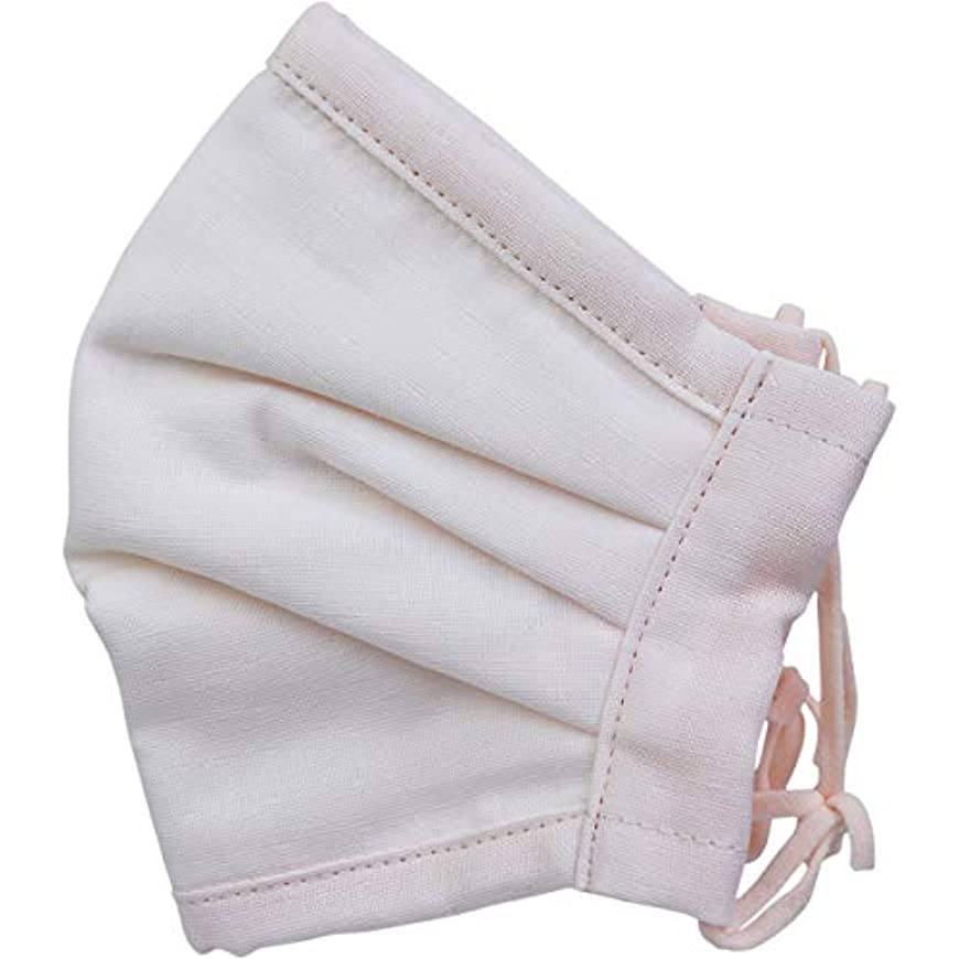 石膏再開知っているに立ち寄るさらふわマスクダイヤドビー 敏感肌用 ライトピンク 少し大きめサイズ 1枚入×5個セット