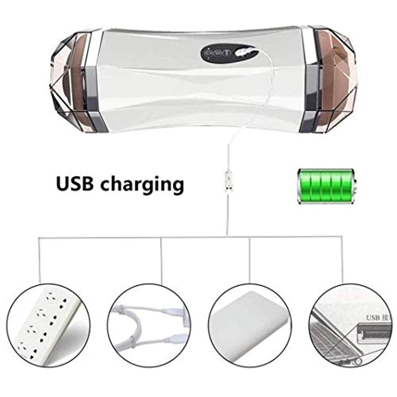 海岸真空どちらもMCAZMSG USB Rechargable Handheld Body Massager for Pain Relief and Muscle Relaxation、Promo、Blood Circulation Massager