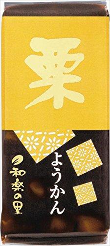 米屋 和楽の里ミニ羊羹栗 58g×10本