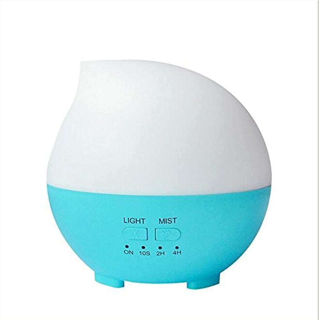 汚す拷問符号加湿器フィルター 加湿器アロマセラピーディフューザーカラーLEDライトホーム車のオフィス(14 * 14 * 14センチメートル) ( Color : Blue )