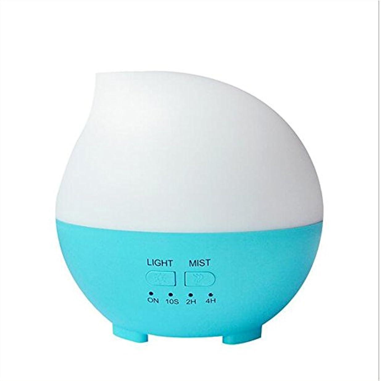 せがむ群集体系的に加湿器フィルター 加湿器アロマセラピーディフューザーカラーLEDライトホーム車のオフィス(14 * 14 * 14センチメートル) ( Color : Blue )