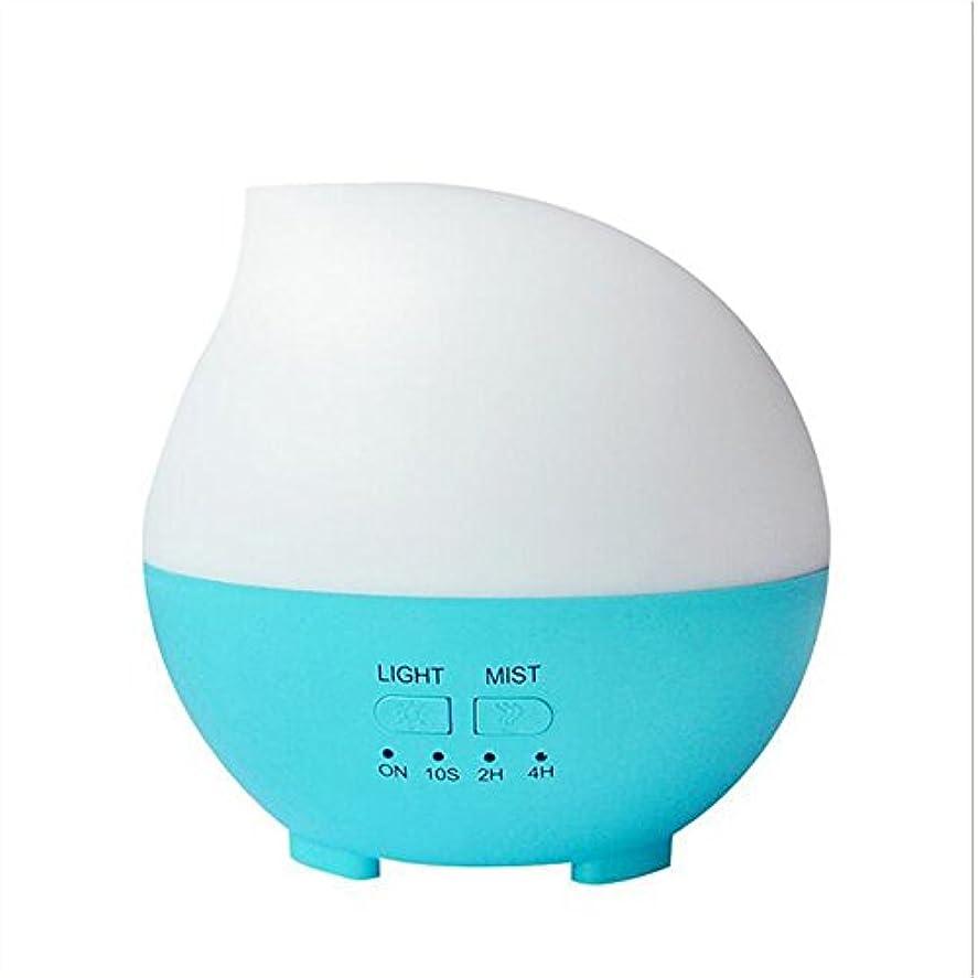 拮抗するあそこまたね加湿器フィルター 加湿器アロマセラピーディフューザーカラーLEDライトホーム車のオフィス(14 * 14 * 14センチメートル) ( Color : Blue )