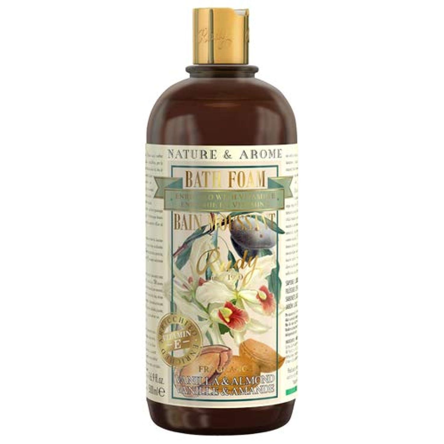 熟達した加入重大RUDY Nature&Arome Apothecary ネイチャーアロマ アポセカリー Bath & Shower Gel バス&シャワージェル Vanilla & Almond バニラ&アーモンド
